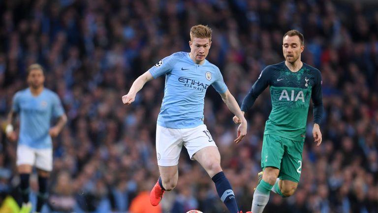 Man City 4 3 Tottenham Agg 4 4 Fernando Llorente Settles Champions League Classic Football News Sky Sports