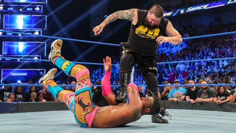 Kevin Owens turned to the dark side with an attack on WWE champion Kofi Kingston on last night's SmackDown