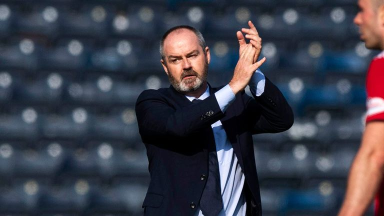 Kilmarnock manager Steve Clarke is a contender for the vacancy