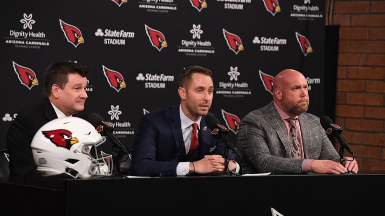 New Arizona Cardinals head coach Kliff Kingsbury is a huge fan of Murray