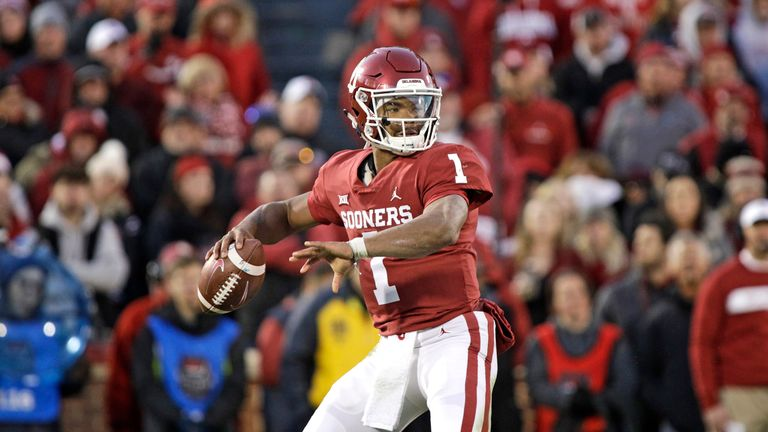 Kyler Murray of the Oklahoma Sooners could be drafted with the No 1 NFL Draft pick