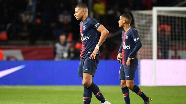 PSG were held to a 2-2 draw by Strasbourg