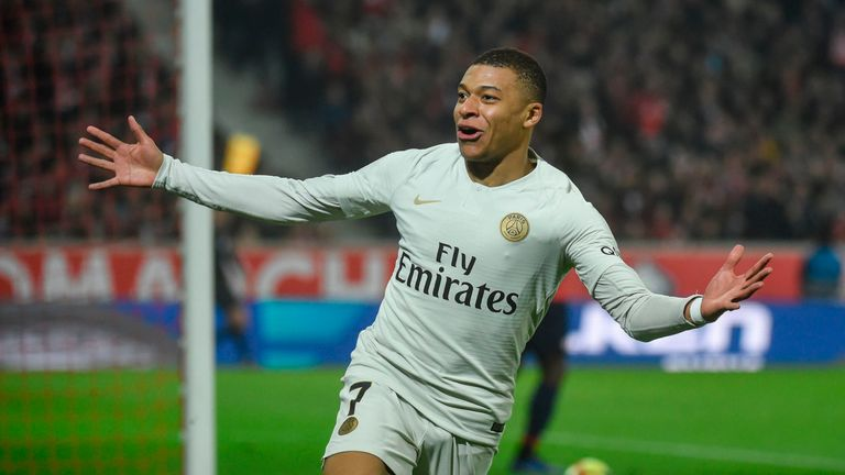 Kylian Mbappe has helped PSG to 132 goals in all competitions