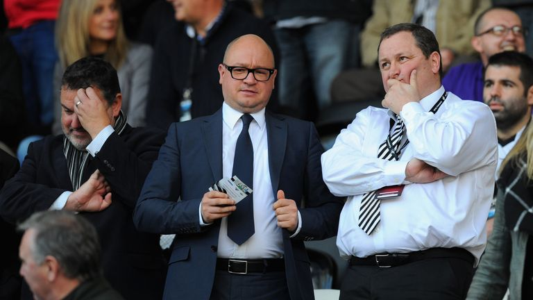 Newcastle managing director Lee Charnley continues to work remotely from home