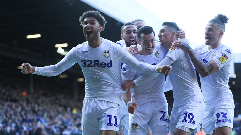 Leeds moved three points clear of Sheffield United in the race for promotion