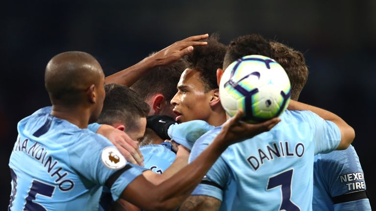 City face Spurs in the first leg of their Champions League quarter-final on Tuesday night