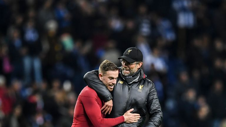 Liverpool will meet Barcelona in the Champions League semi-finals after seeing off Porto 6-1 on aggregate
