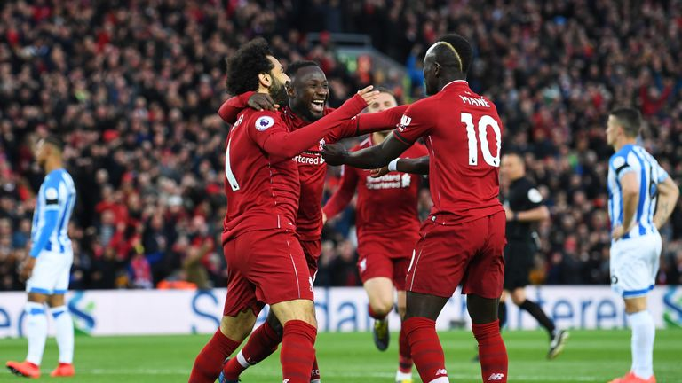 Liverpool will be competing in consecutive European Cup finals for the first time since 1985