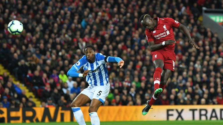 Mane scored twice with his head to take his tally to 20 for the season