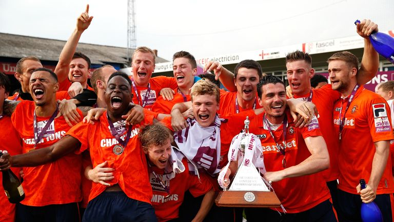 Luton won the Conference in 2014 under John Still