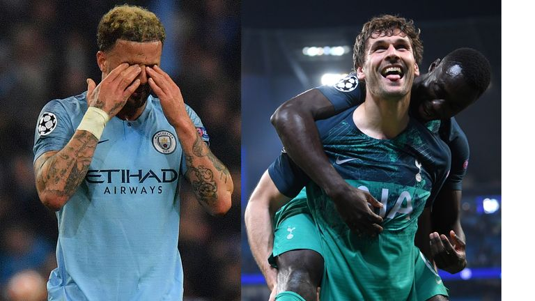 How do Manchester City and Tottenham recover from the highs and lows of Wednesday's epic when facing one another for the third time in 12 days on Saturday?