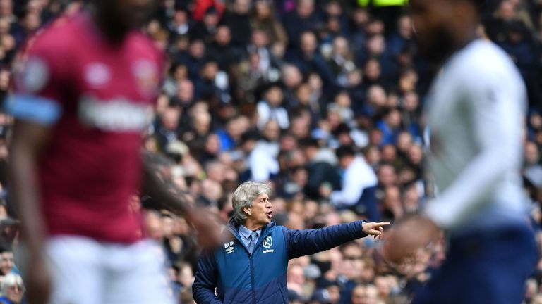 Manuel Pellegrini finished 10th in the Premier League with West Ham last season