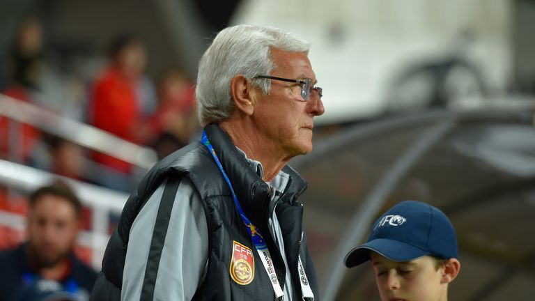 Marcello Lippi left as China boss after defeat to Iran in the Asian Cup quarter-finals.
