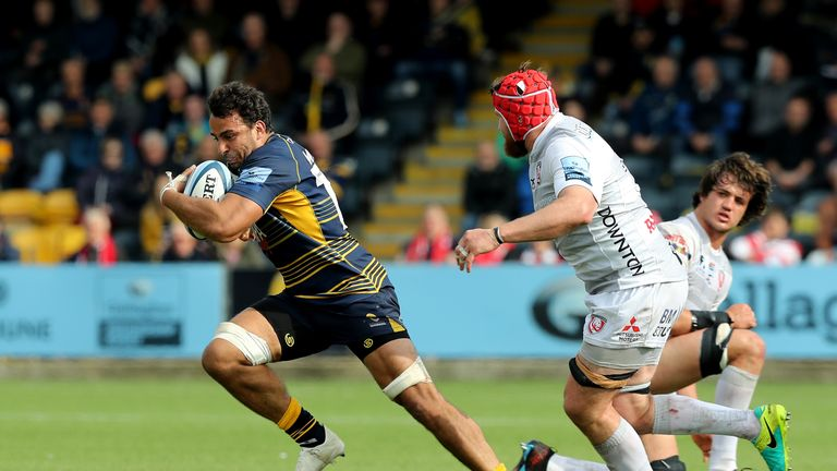 Worcester Warriors secured their safety in the top flight