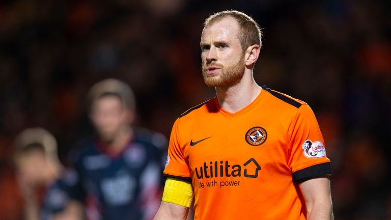 Mark Reynolds has signed a pre-contract agreement with Dundee United after joining on loan from Aberdeen in January