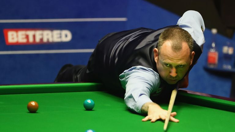 Mark Williams is in hospital after suffering chest pains