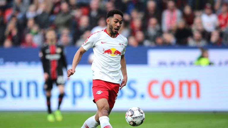 Matheus Cunha's stunning goal completed Leipzig's win