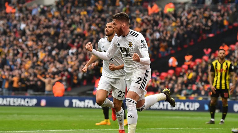 Matt Doherty scored his fourth FA Cup goal of the season to open the scoring