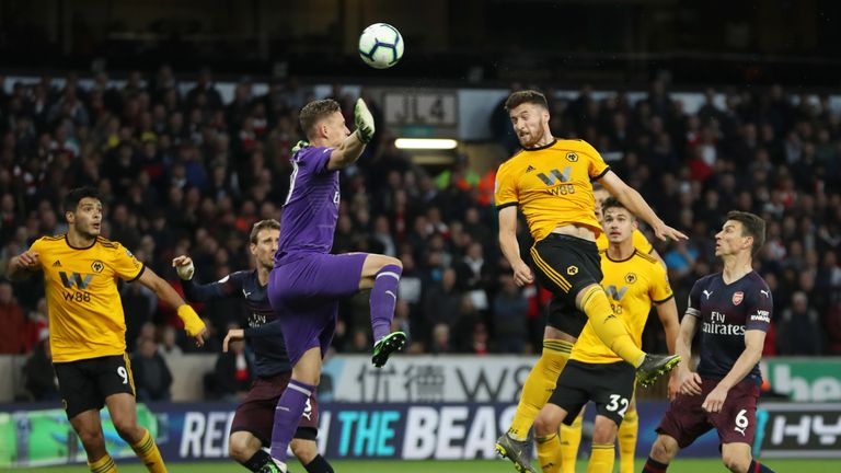 Matt Doherty was key to Wolves' impressive first season back in the Premier League