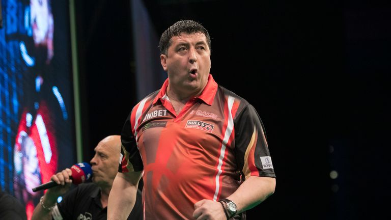 Mensur Suljovic is aiming to reign supreme at the German Darts Masters for the second straight year
