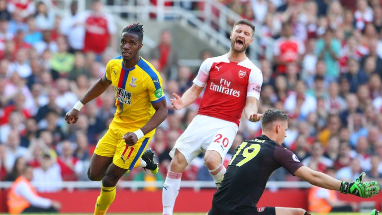 Mustafi was blamed for errors last season, including during a home defeat to Crystal Palace