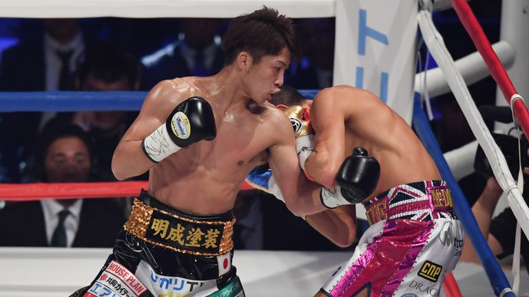 WBA bantamweight champion Inoue stopped Jamie McDonnell inside one round - next, he aims to unify with the IBF belt