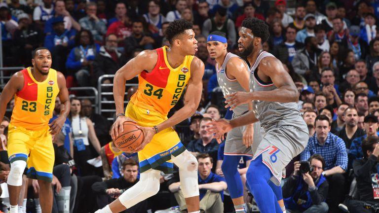 NBA Milwaukee Bucks v Philadelphia 76ers
