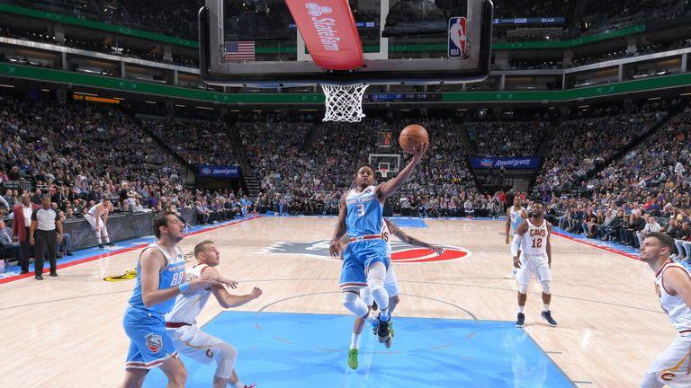 NBA Cleveland Cavaliers v Sacramento Kings