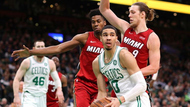 NBA Miami Heat v Boston Celtics