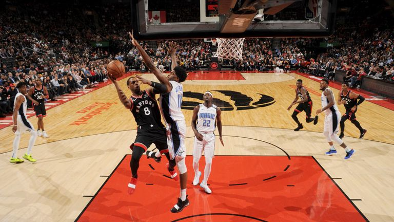 NBA Orlando Magic v Toronto Raptors