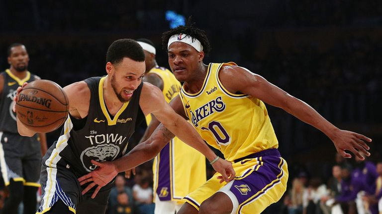 NBA Golden State Warriors v Los Angeles Lakers
