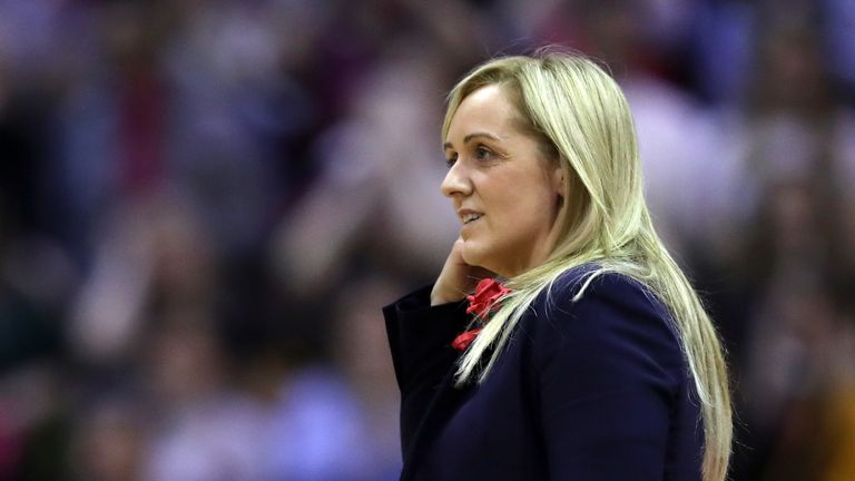 Head coach Tracey Neville will step down after July's Netball World Cup