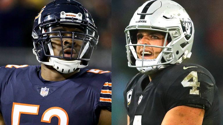 Khalil Mack and Derek Carr will play in London later this year