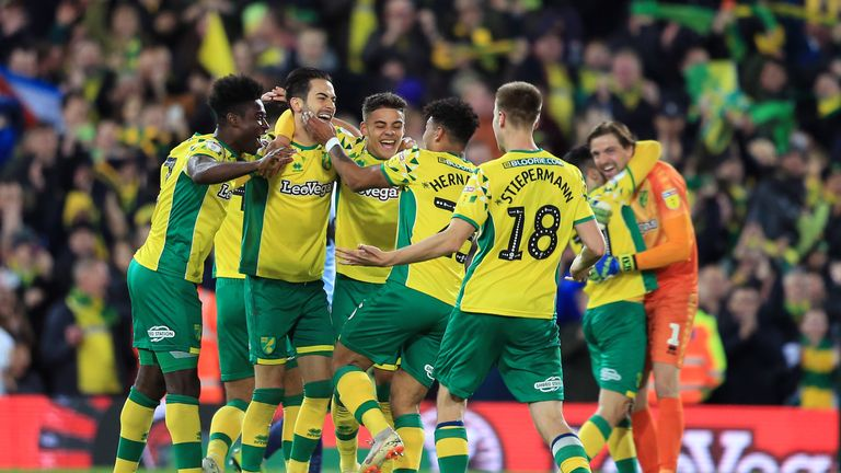 Norwich are looking forward to life in the Premier League