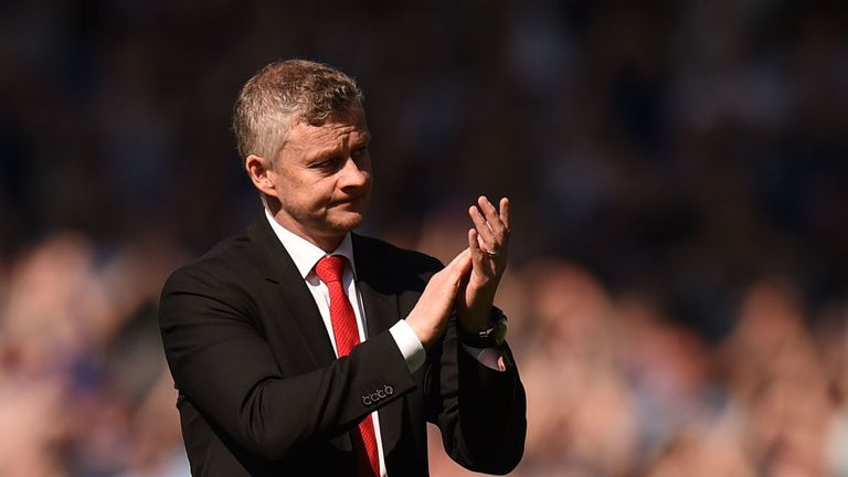 Ole Gunnar Solskjaer pictured after Manchester United lost 4-0 away to Everton in Premier League