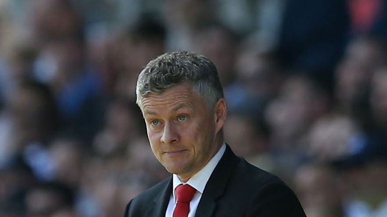 Ole Gunnar Solskjaer says his players are not fit enough