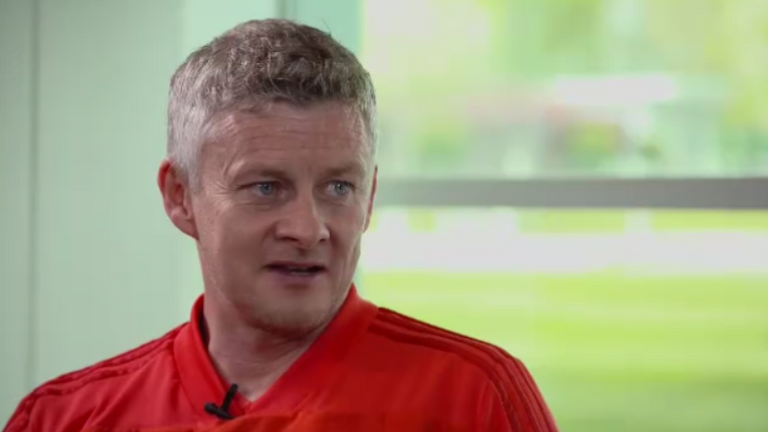 Ole Gunnar Solskjaer speaks exclusively to Sky Sports' Gary Neville ahead of the Manchester derby