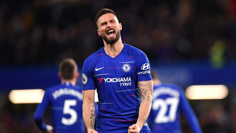 Chelsea may trigger extension in Olivier Giroud contract, says Maurizio Sarri