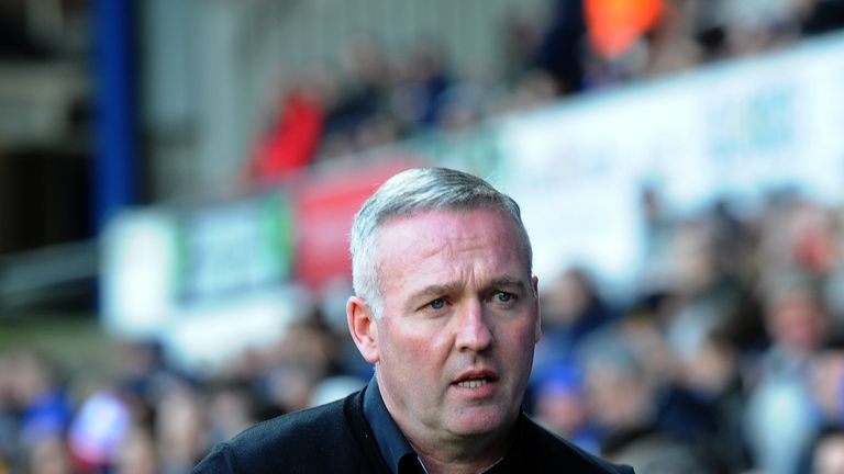Ipswich Town's manager Paul Lambert during the Sky Bet Championship match against Birmingham City