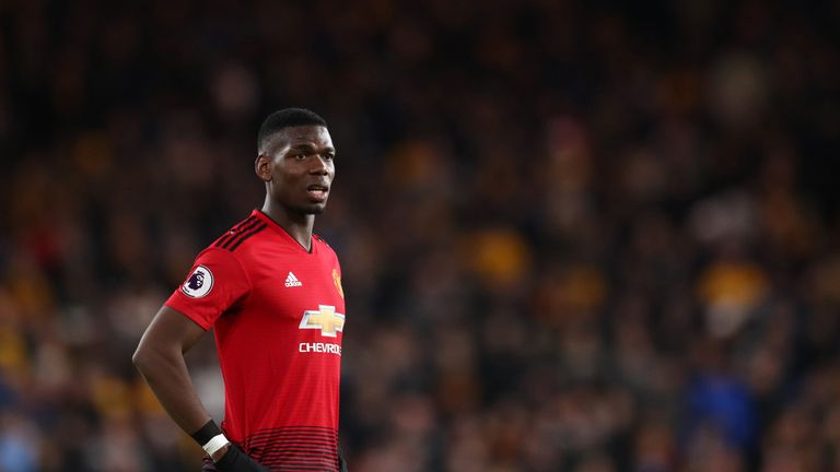 Manchester United's Paul Pogba has attracted interest from Real Madrid