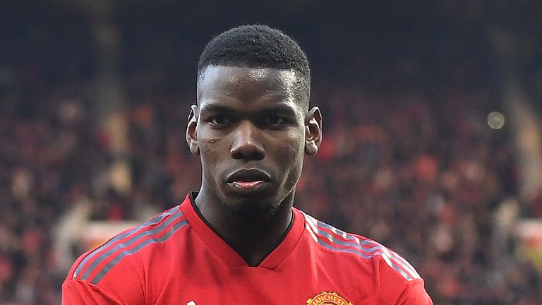 Paul Pogba appears to want to leave United, according to Gary Neville