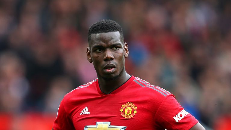 Paul Pogba has been linked with a move to Real Madrid