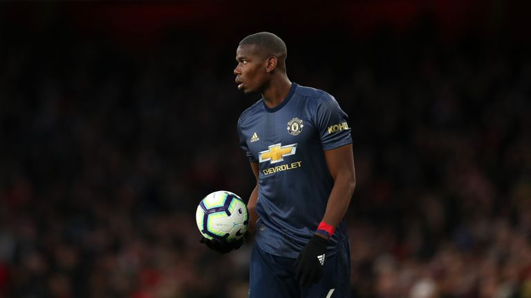 Manchester United Coach Mike Phelan Says Paul Pogba Is Not The Finished Deal Football News Sky Sports