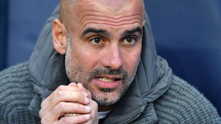 Manchester City Pep Guardiola v Tottenham