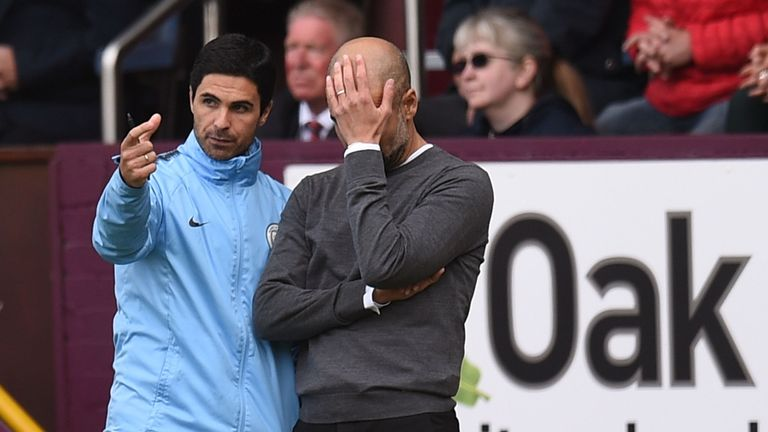 Pep Guardiola and Manchester City had endured a frustrating afternoon at Turf Moor before Aguero's goal just after the hour