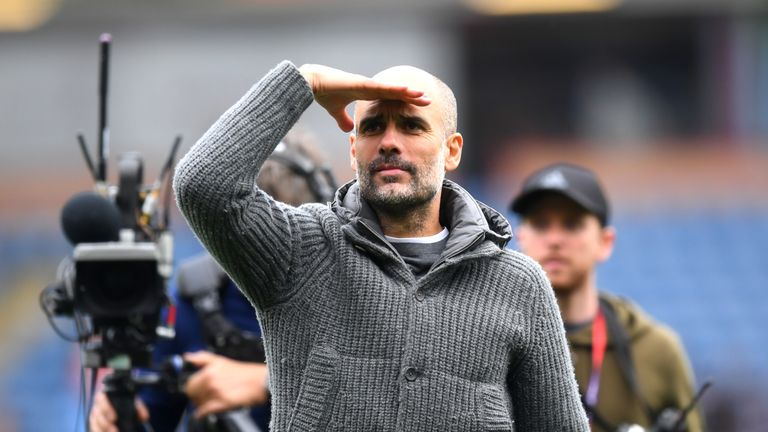 Pep Guardiola issued a statement of intent after Manchester City's win at Burnley