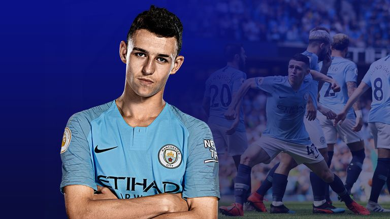 Phil Foden scored his first Premier League goal in Manchester City's 1-0 win over Tottenham