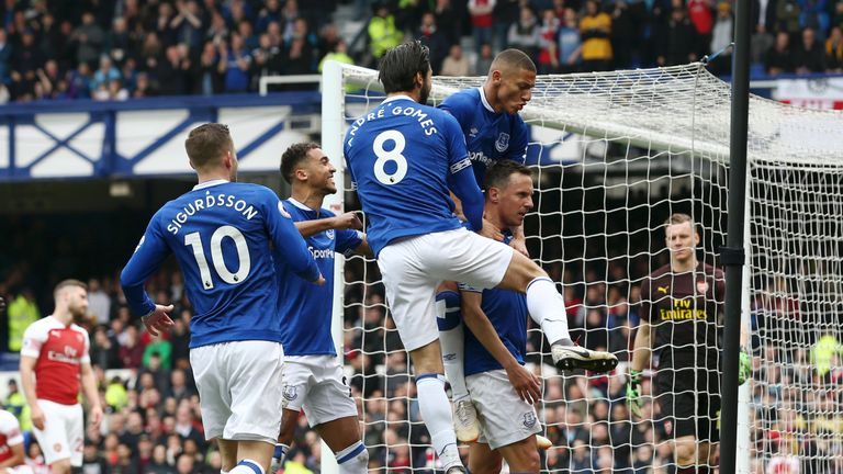b05b5232d3e Everton 1-0 Arsenal: Player ratings as the Gunners' away day woes ...