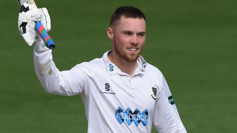 Phil Salt scored his second successive century for Sussex