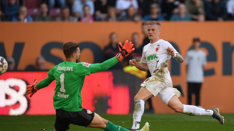 Philipp Max nets his second of the day